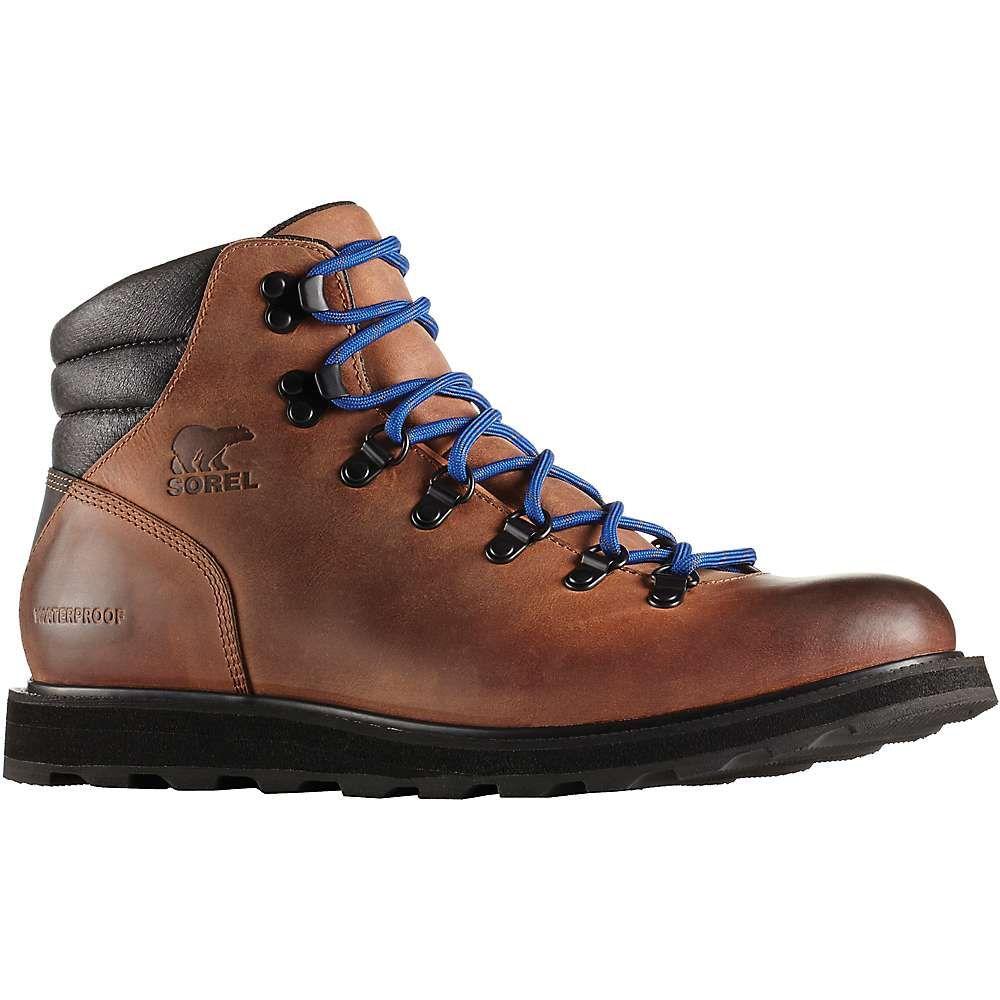 ソレル メンズ ハイキング・登山 シューズ・靴【Madson Hiker Waterproof Boot】Elk / Black