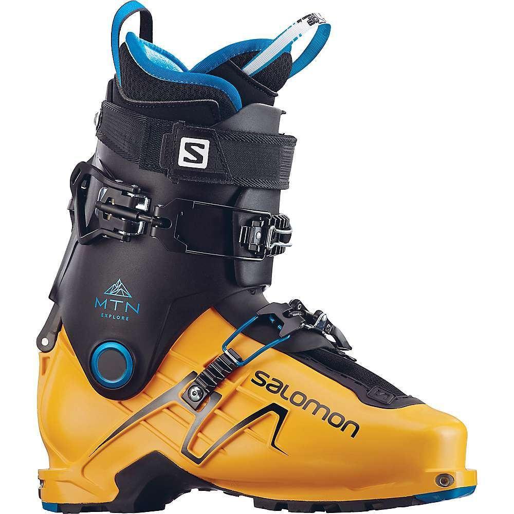 サロモン メンズ スキー・スノーボード シューズ・靴【MTN Explore Ski Boot】Safran / Black