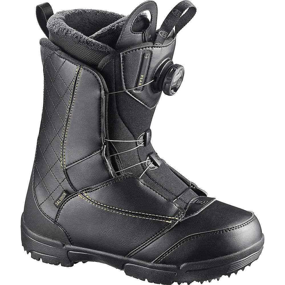 サロモン レディース スキー・スノーボード シューズ・靴【Pearl Boa Snowboard Boot】Black