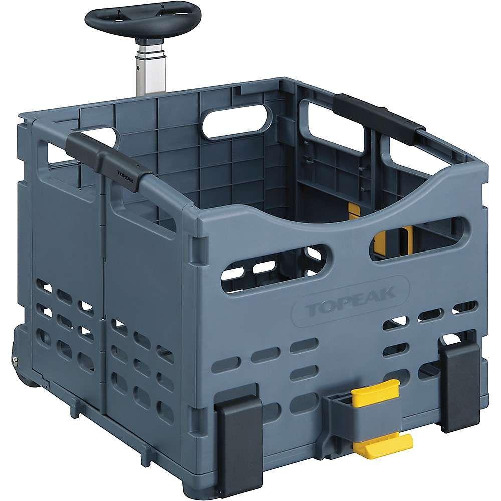 トッピーク ユニセックス 自転車【TrolleyTote Folding MTX Rear Basket】Grey