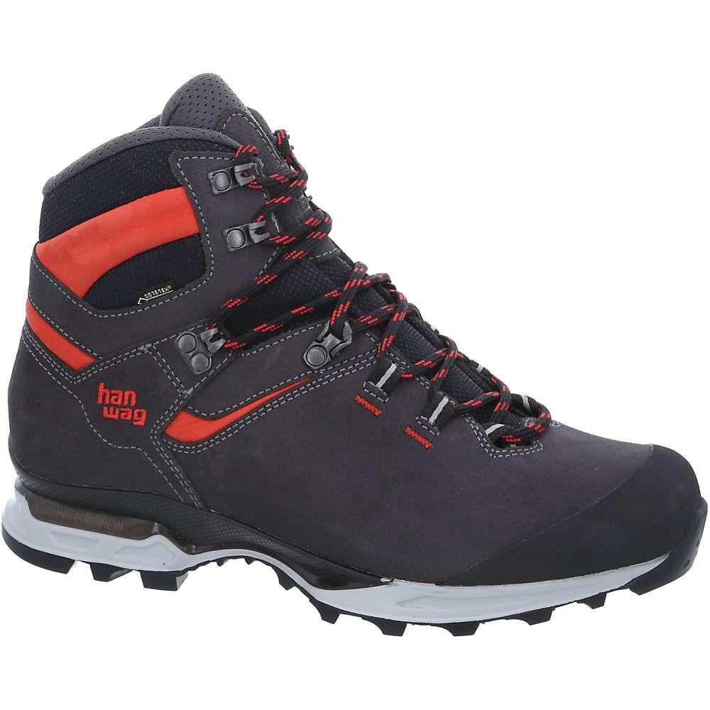 ハンワグ メンズ ハイキング・登山 シューズ・靴【Tatra Light GTX Boot】Asphalt / Red