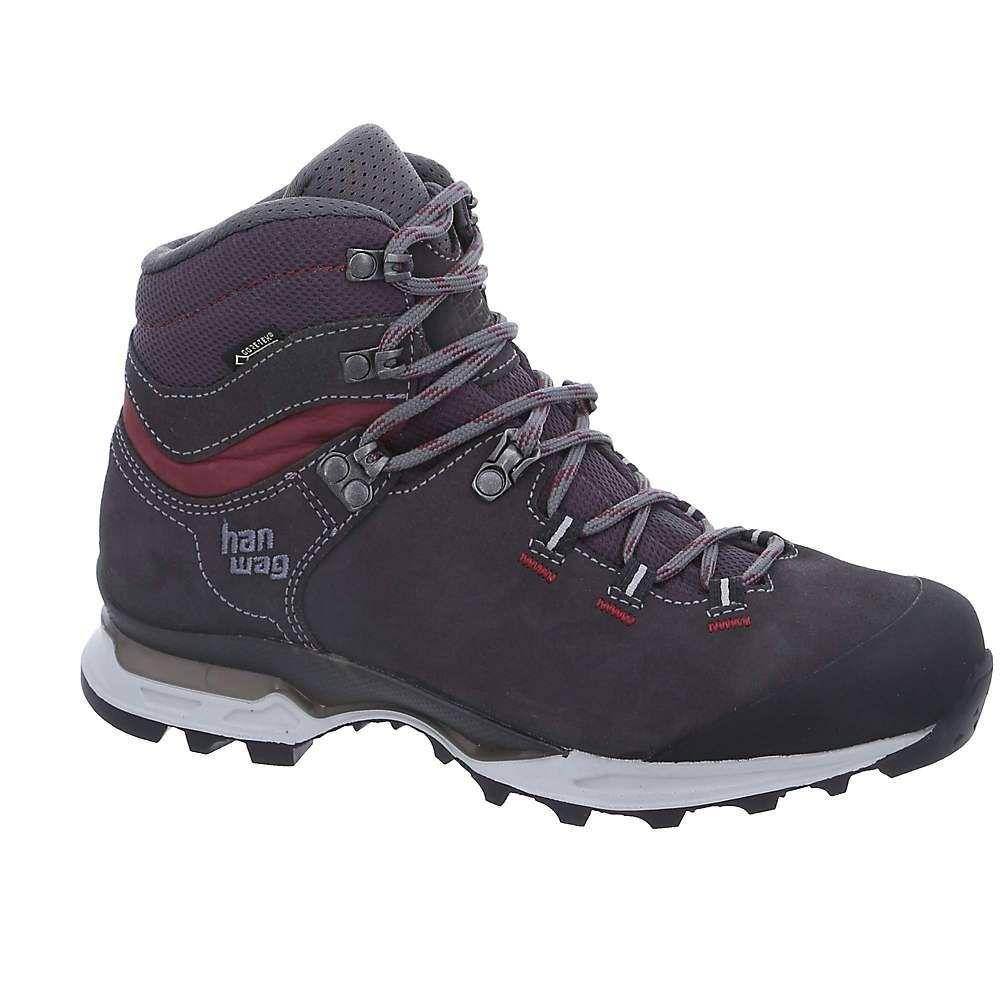ハンワグ レディース ハイキング・登山 シューズ・靴【Tatra Light GTX Boot】Asphalt / Dark Garnet