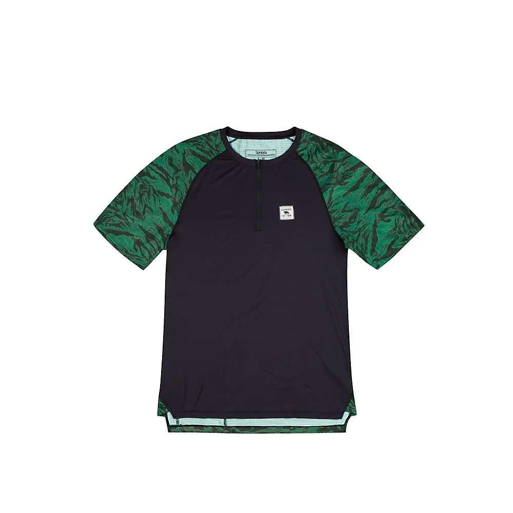 ソンブリオ メンズ 自転車 トップス【Ridgeline Jersey】Green Grizzly Camo