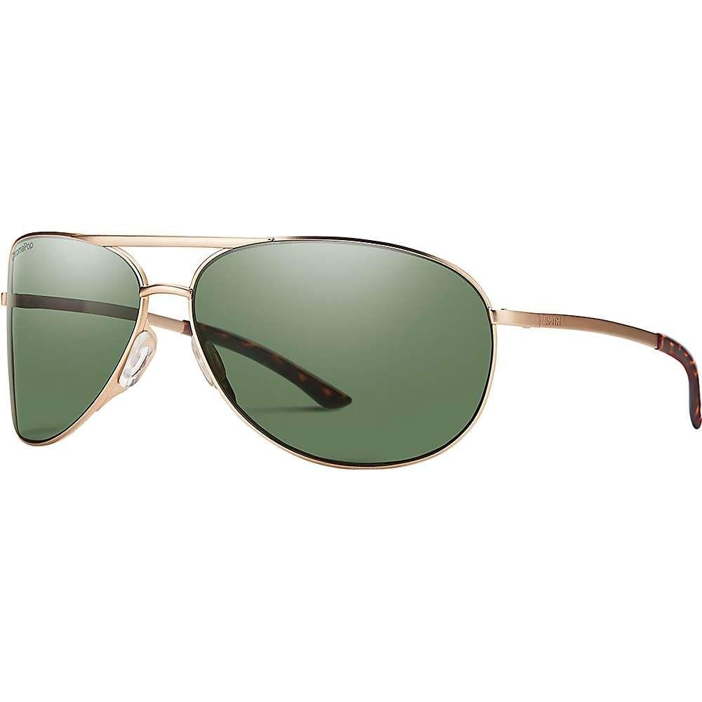 スミス ユニセックス メガネ・サングラス【Serpico 2 Polarized Sunglasses】Matte Gold/Polarized Gray Green