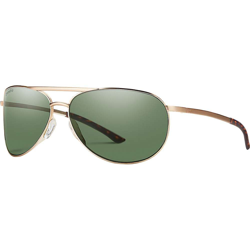 スミス ユニセックス メガネ・サングラス【Serpico Slim 2 Polarized Sunglasses】Matte Gold/Polarized Gray Green
