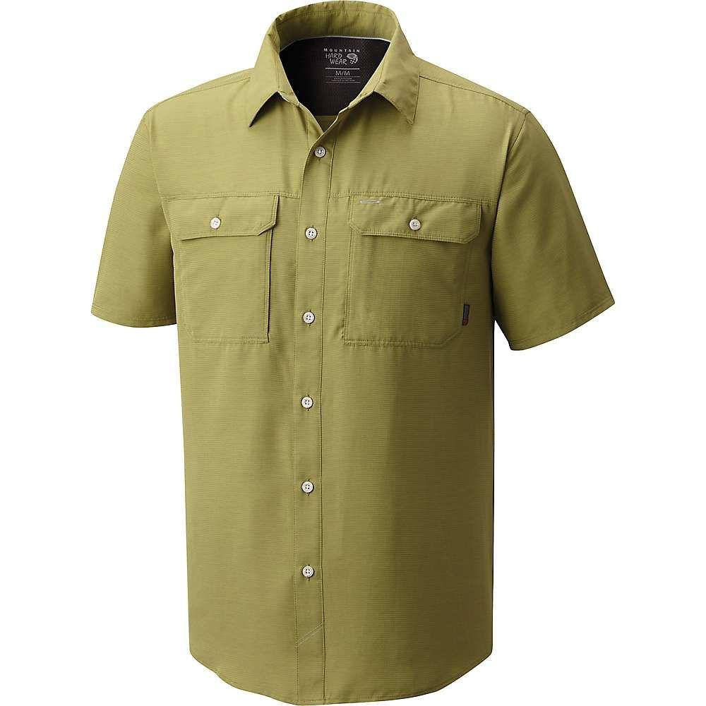 マウンテンハードウェア メンズ ハイキング・登山 トップス【Canyon SS Shirt】Fatigue Green
