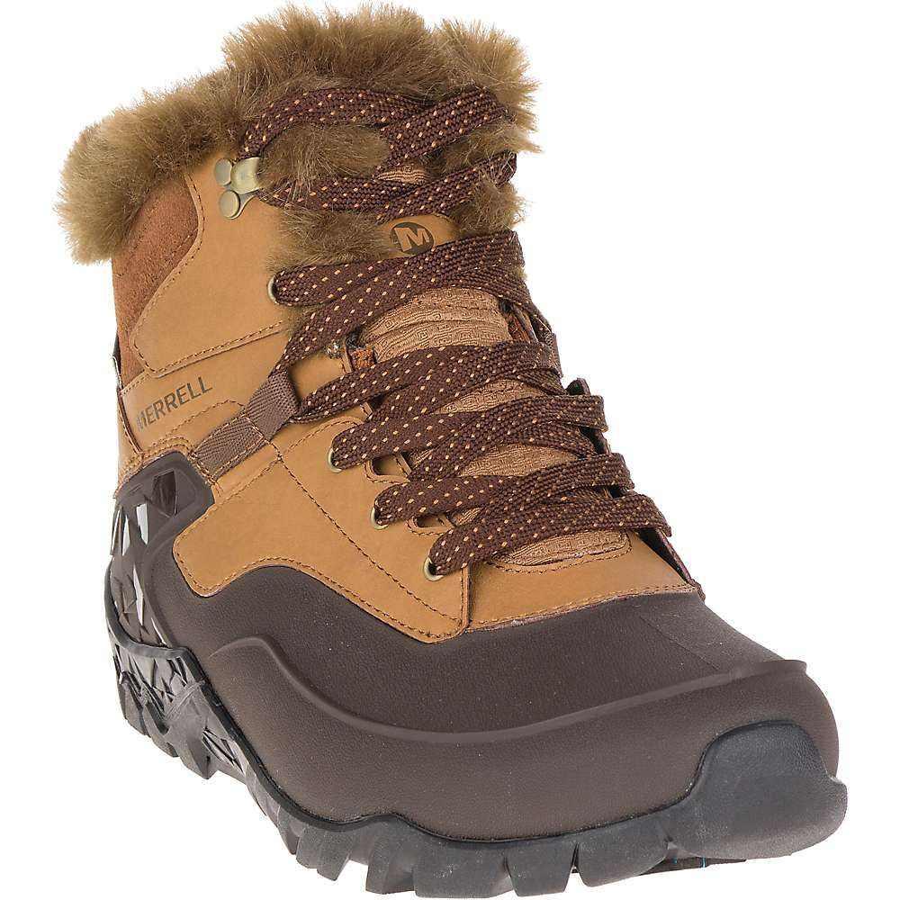 メレル レディース ハイキング・登山 シューズ・靴【Aurora 6 Ice+ Waterproof Boot】Merrell Tan