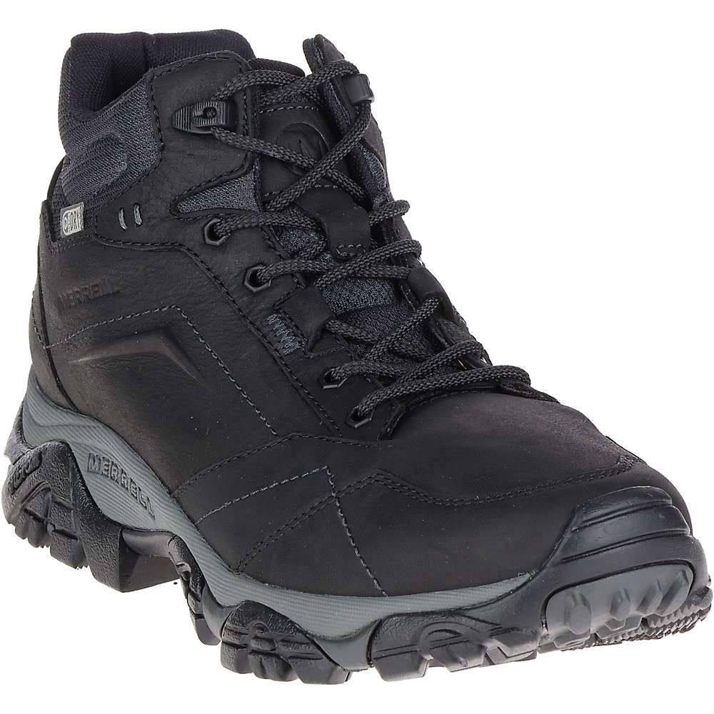 メレル メンズ ハイキング・登山 シューズ・靴【Moab Adventure Mid Waterproof Boot】Black