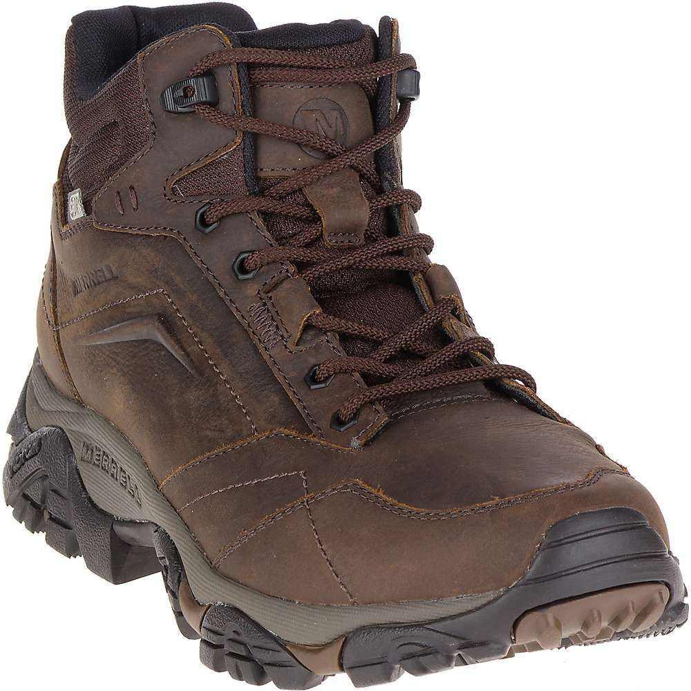 メレル メンズ ハイキング・登山 シューズ・靴【Moab Adventure Mid Waterproof Boot】Dark Earth