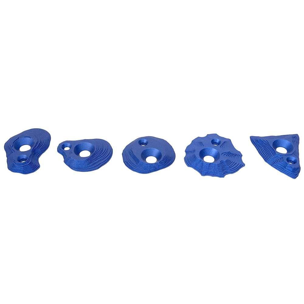 メトリウス ユニセックス クライミング【Mini Tech Screw On Foot Holds】Blue