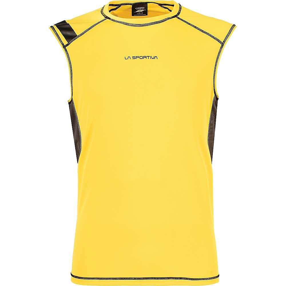 ラスポルティバ メンズ ハイキング・登山 トップス【Rocket Tank】Yellow / Carbon