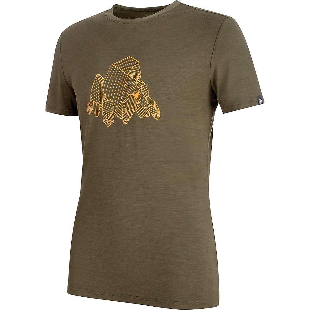 マムート メンズ ハイキング・登山 トップス【Alnasca T-Shirt】Iguana