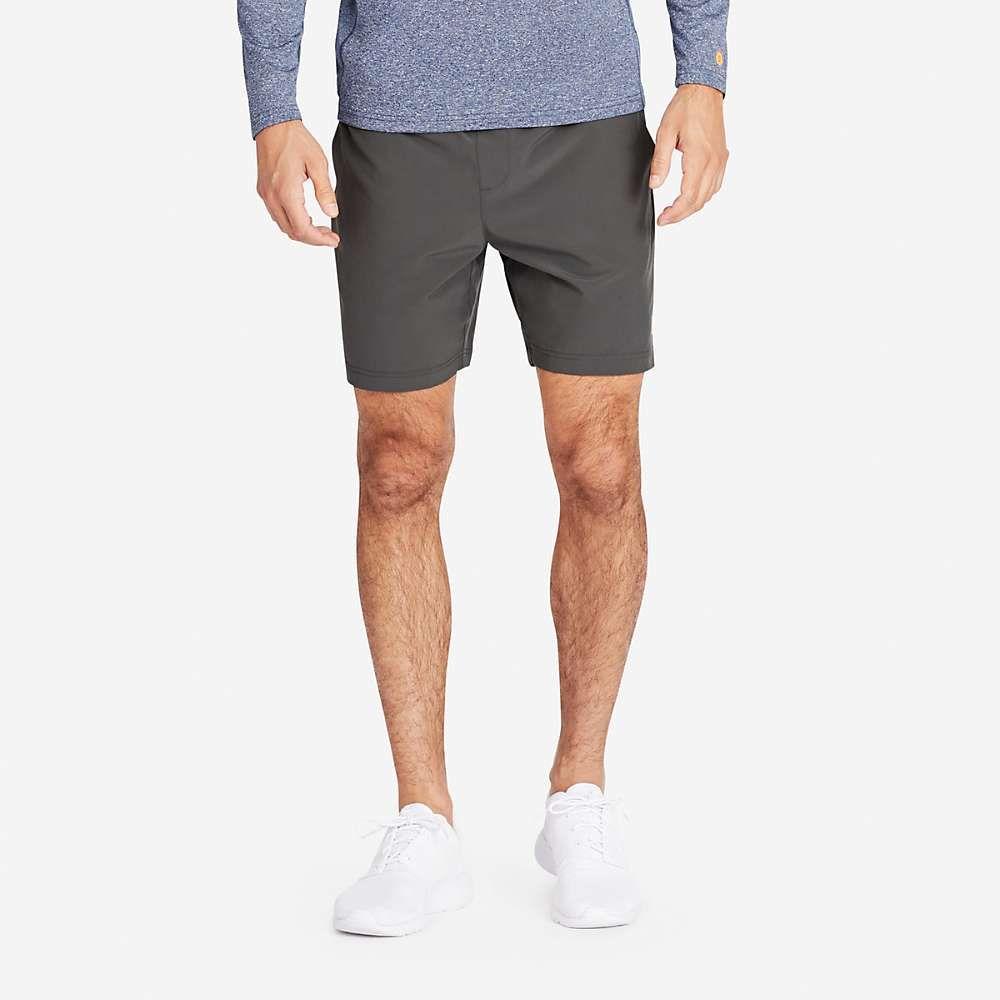 ボノボス メンズ ランニング・ウォーキング ボトムス・パンツ【7IN Gym Short with Liner】Coal Grey