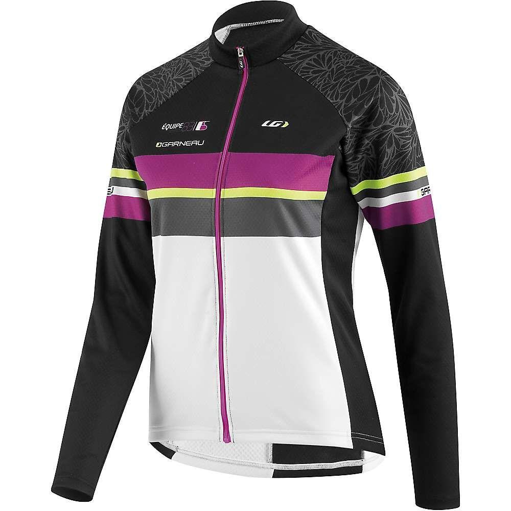 ルイガノ レディース 自転車 トップス【Equipe Long Sleeve Jersey】Black / Purple / White