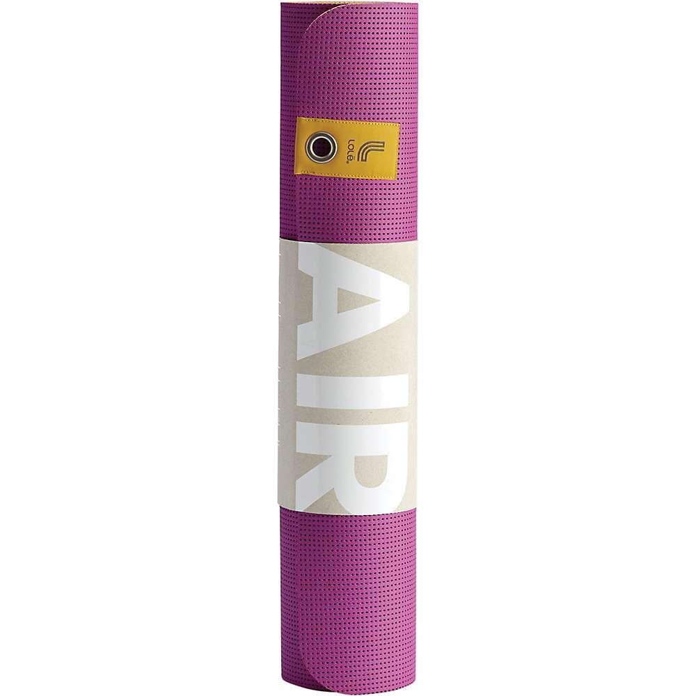ロール レディース ヨガ・ピラティス ヨガマット【Air Yoga Mat】Purple Cactus Flower