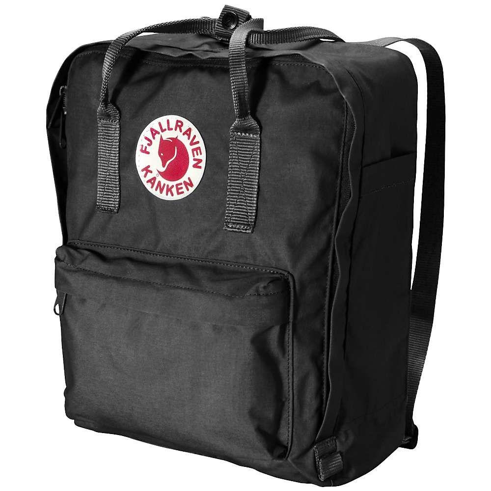 フェールラーベン メンズ バッグ バックパック・リュック【Kanken Backpack】Black-Ox Red