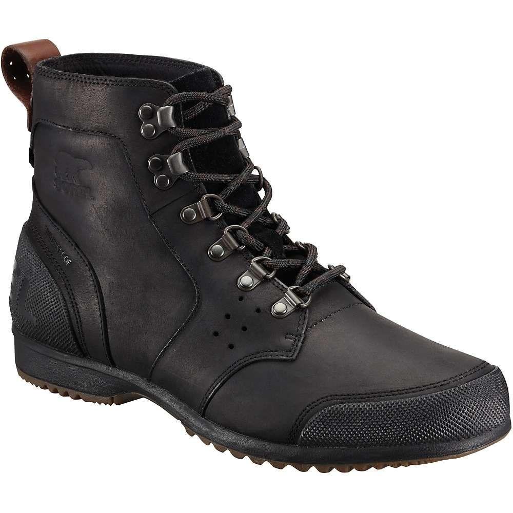 ソレル メンズ ハイキング・登山 シューズ・靴【Ankeny Mid Hiker Boot】Black / Tobacco