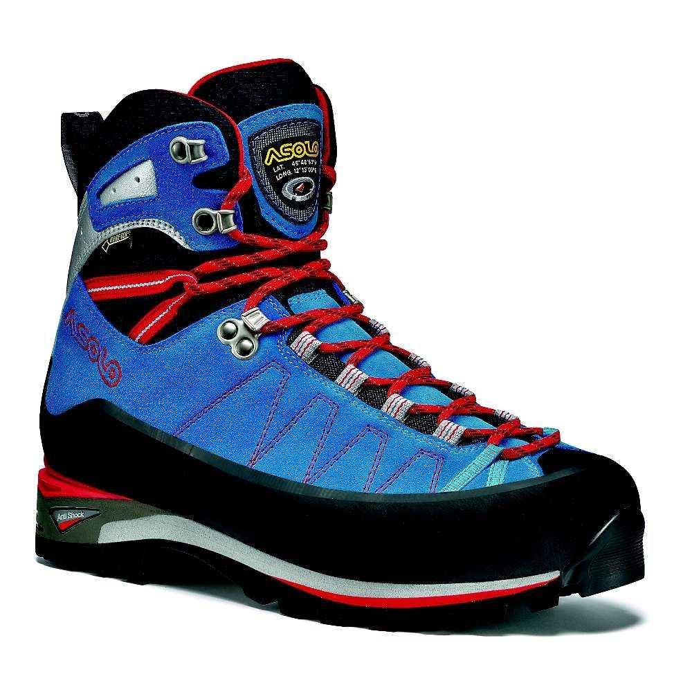 アゾロ メンズ ハイキング・登山 シューズ・靴【Elbrus Boot】Blue / Astor Silver