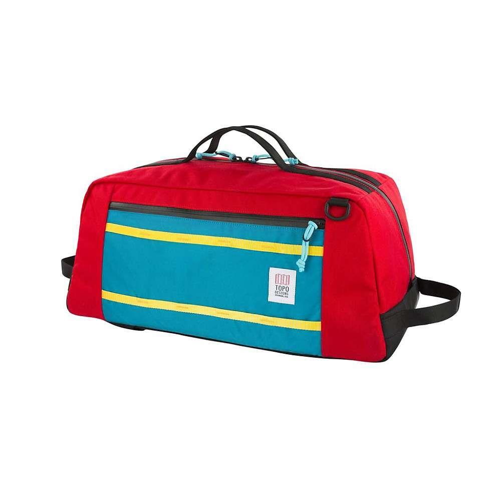 トポ デザイン ユニセックス バッグ ボストンバッグ・ダッフルバッグ【Mountain Duffel Bag】Red F17