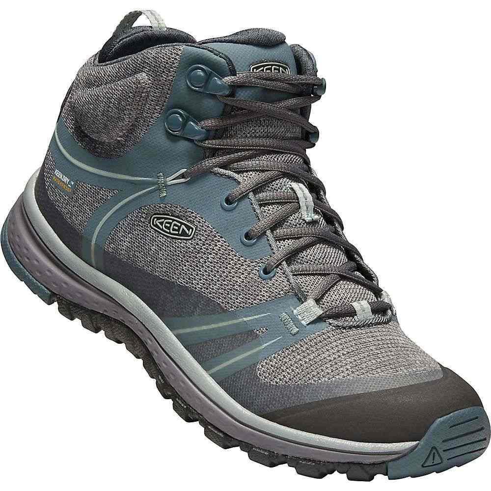 キーン レディース ハイキング・登山 シューズ・靴【Terradora Mid Waterproof Boot】Stormy Weather / Wrought Iron