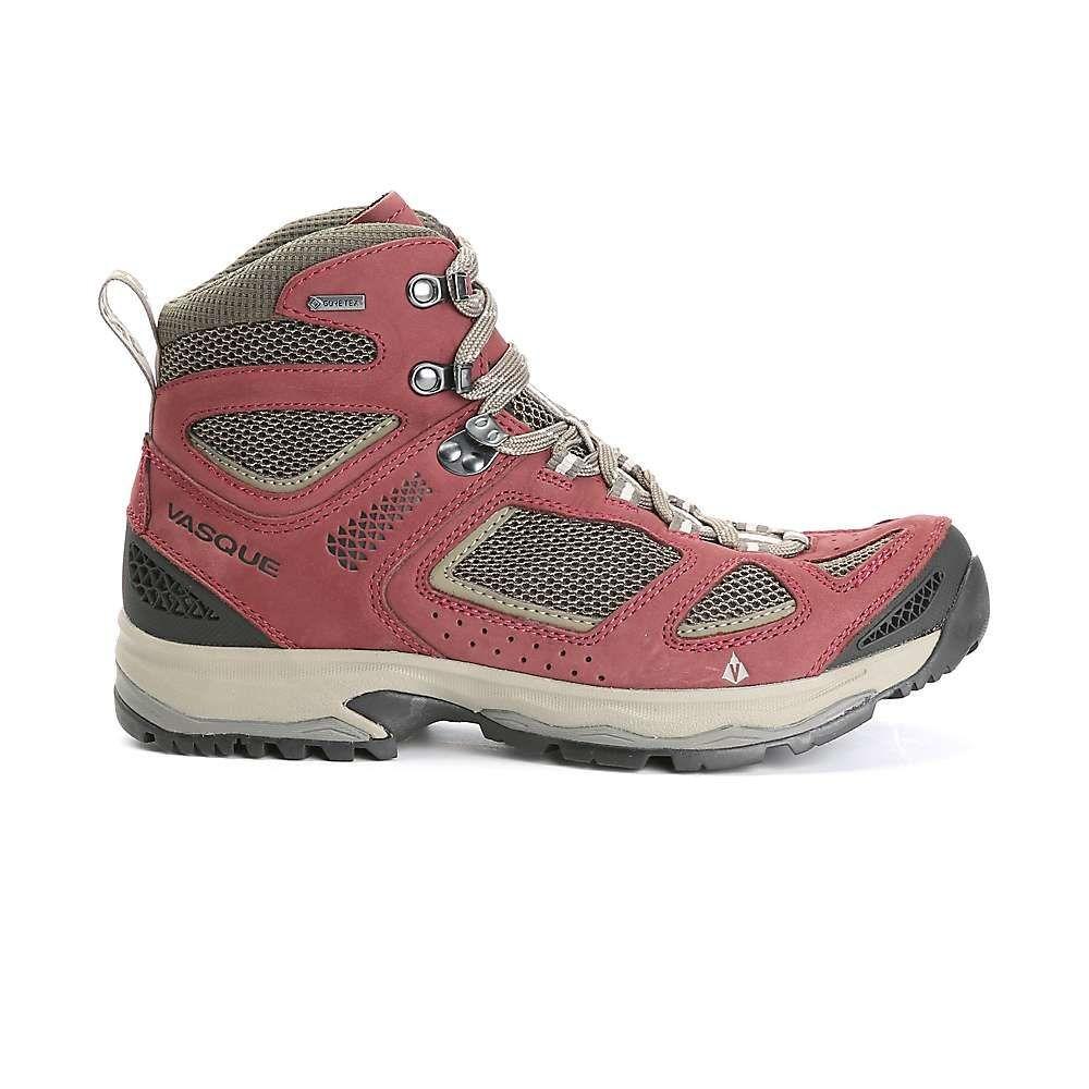 バスク レディース ハイキング・登山 シューズ・靴【Breeze III GTX Boot】Red Mahogany/Brown Olive