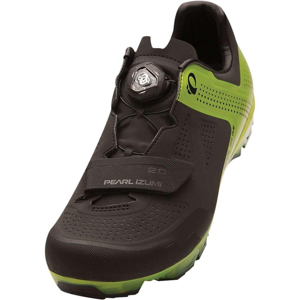 パールイズミ メンズ 自転車 シューズ・靴【X-Project ELITE Shoe】Black/Lime Punch