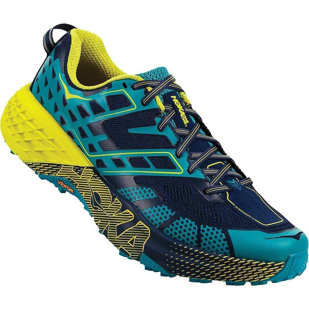 ホカ オネオネ メンズ ランニング・ウォーキング シューズ・靴【Speedgoat 2 Shoe】Caribbean Sea / Blue Depths