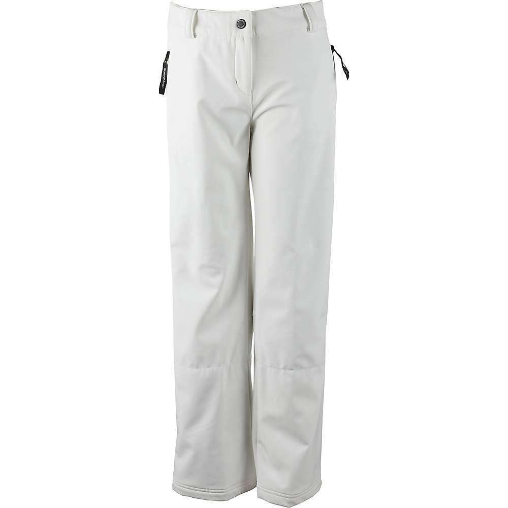 オバマイヤー レディース スキー・スノーボード ボトムス・パンツ【Summit Softshell Pant】White