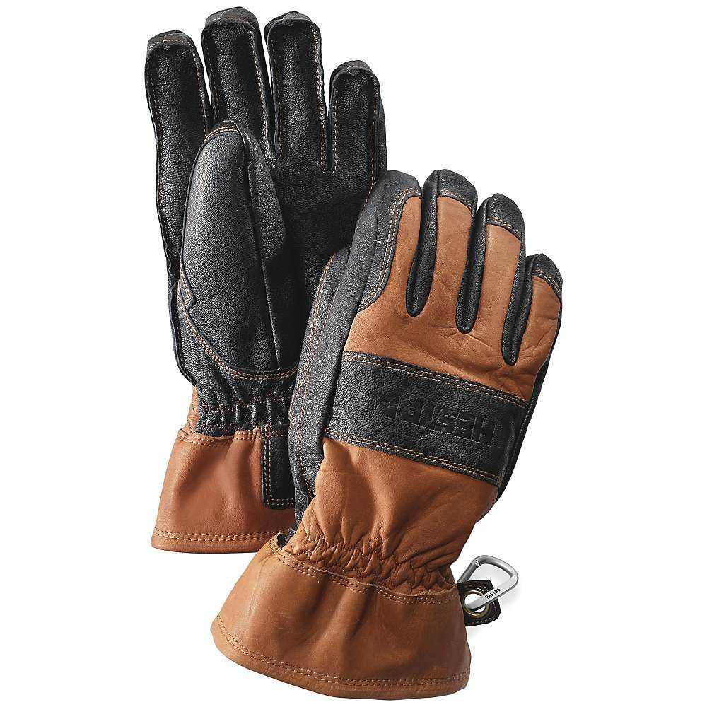 ヘスタ ユニセックス スキー・スノーボード グローブ【Falt Guide Glove】Brown / Black