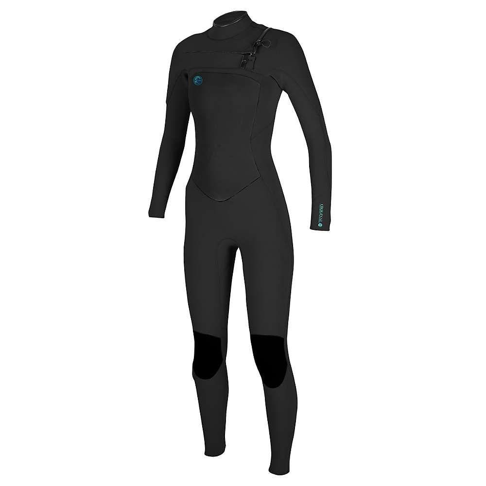 オニール レディース サーフィン ウェットスーツ【O'Neill O'Riginal F.U.Z.E 3/2MM Full Suit】Black / Black / Black