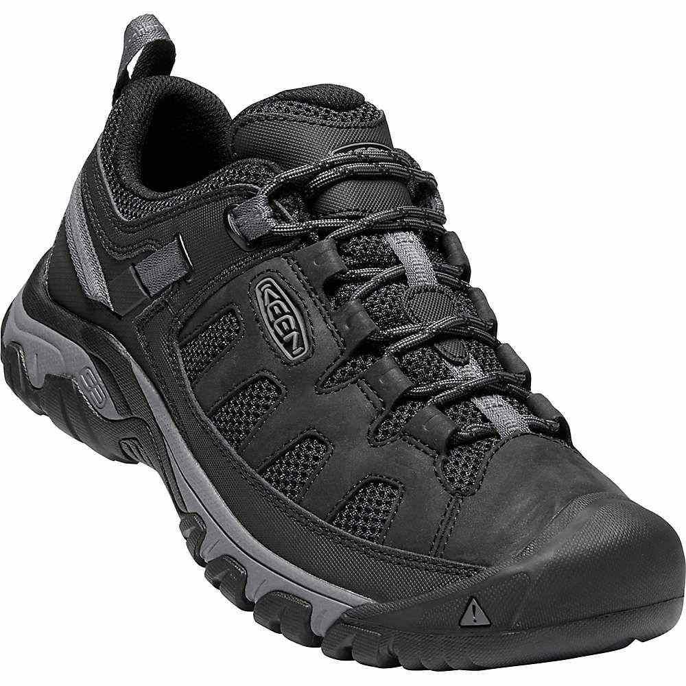 キーン メンズ ハイキング・登山 シューズ・靴【Targhee Vent Shoe】Black / Steel Grey