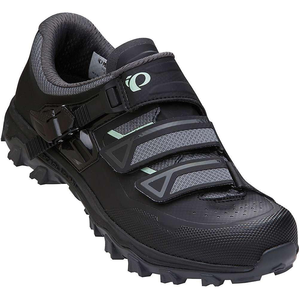 パールイズミ レディース 自転車 シューズ・靴【X-Alp Summit Shoe】Black/Black
