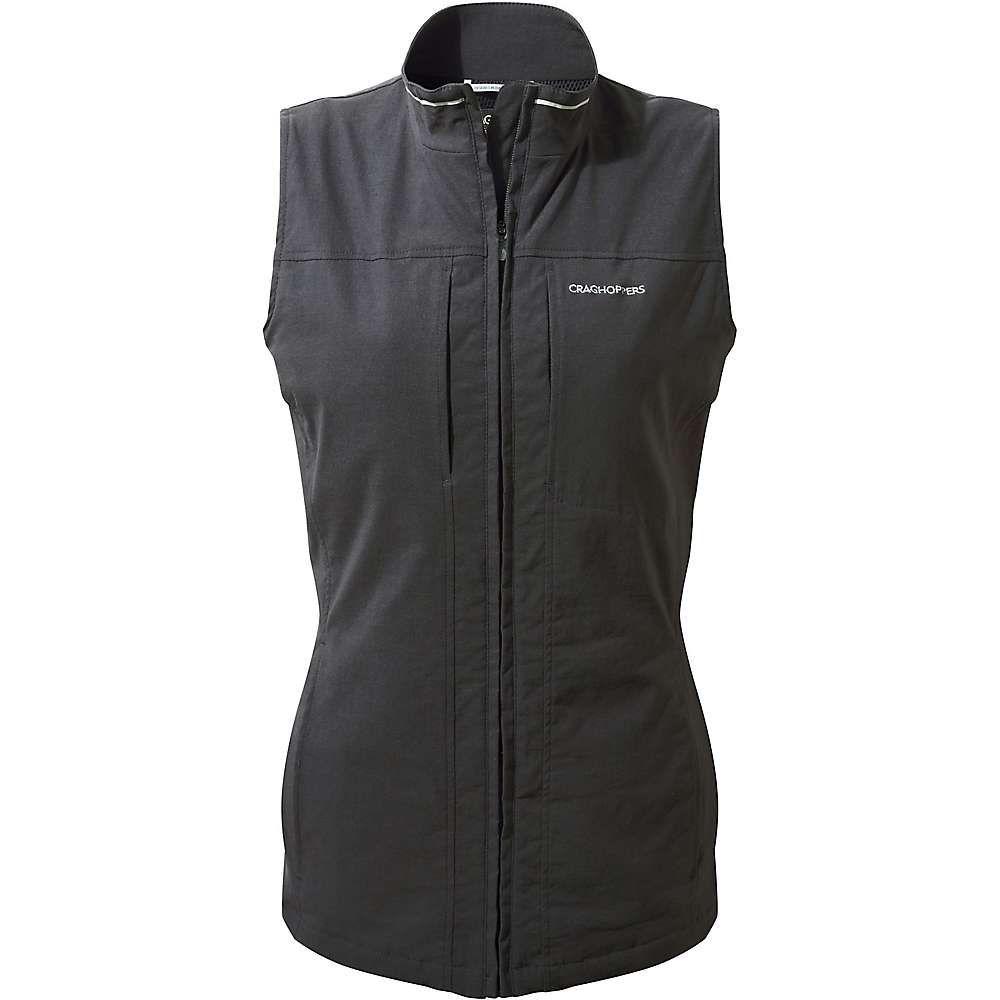 クラッグホッパーズ レディース トップス ベスト・ジレ【NosiLife Dainely Gilet Vest】Charcoal