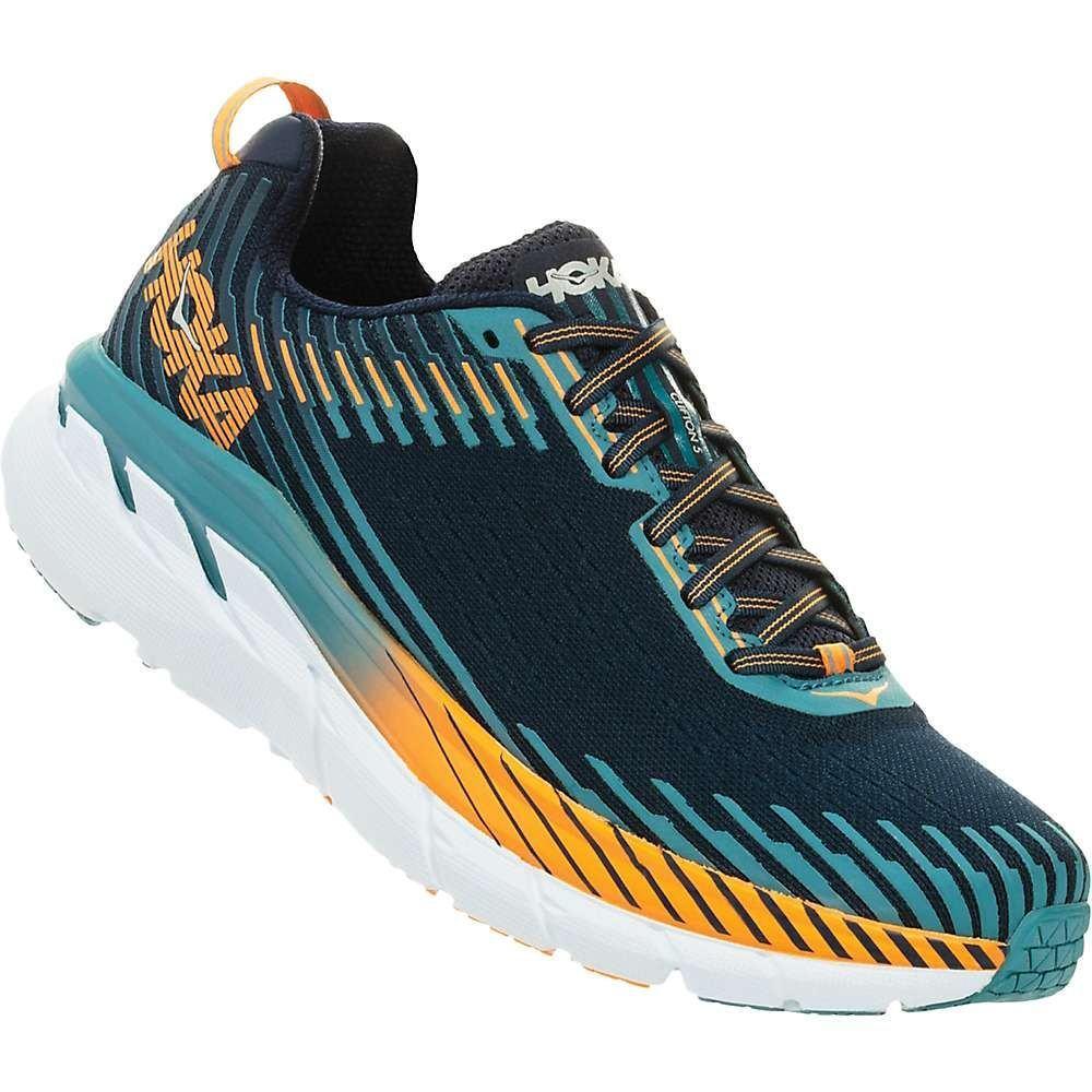 ホカ オネオネ メンズ ランニング・ウォーキング シューズ・靴【Clifton 5 Shoe】Black Iris / Storm Blue