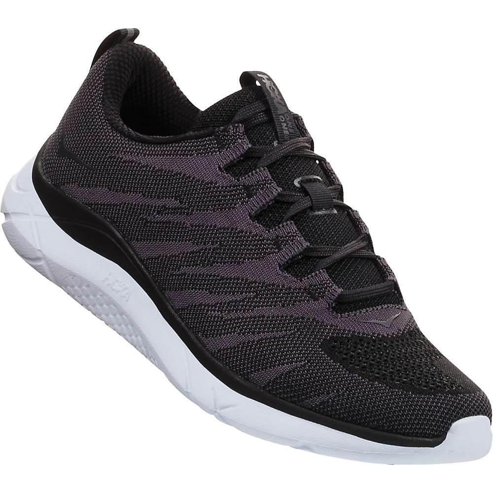 ホカ オネオネ レディース ランニング・ウォーキング シューズ・靴【Hupana Knit Jacquard Shoe】Black / White