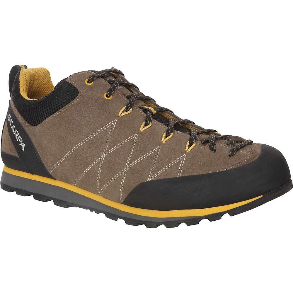 スカルパ メンズ ハイキング・登山 シューズ・靴【Crux Shoe】Light Brown/Mustard