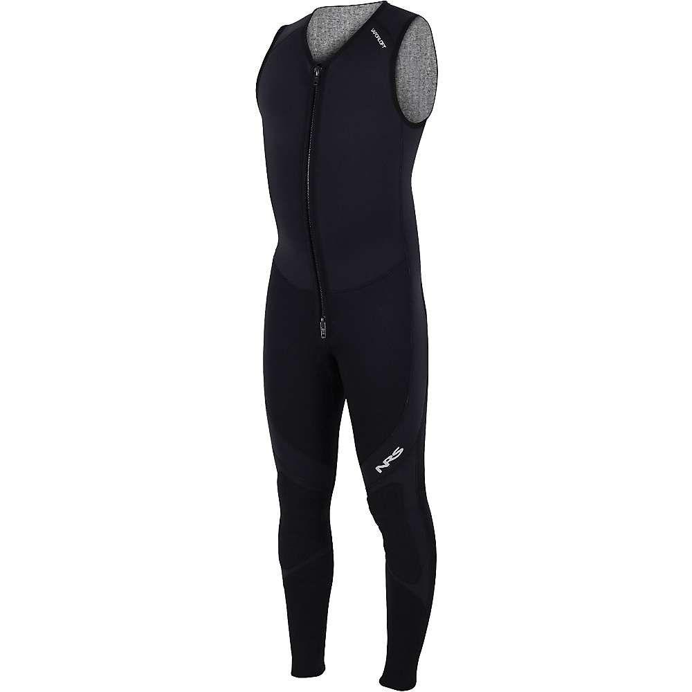 エヌアールエス メンズ サーフィン ウェットスーツ【3.0 Ultra John Wetsuit】Black