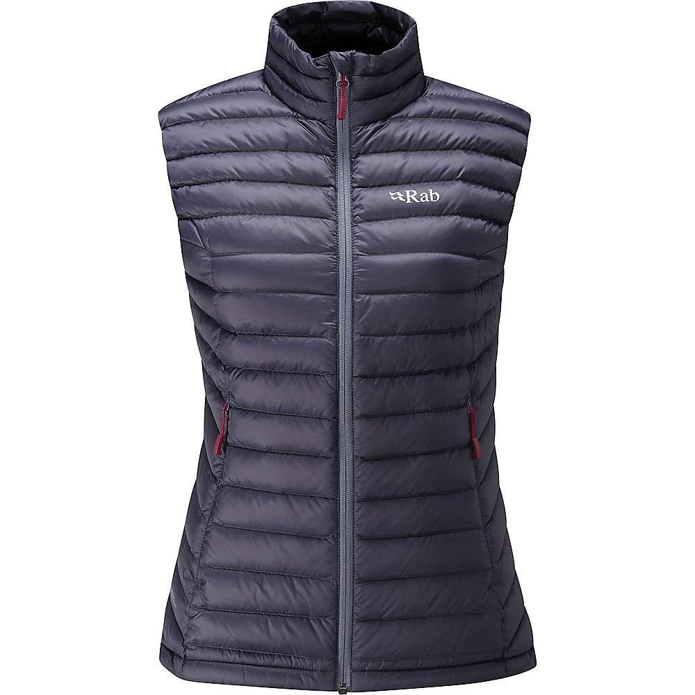 ラブ レディース トップス ベスト・ジレ【Microlight Vest】Steel / Passata