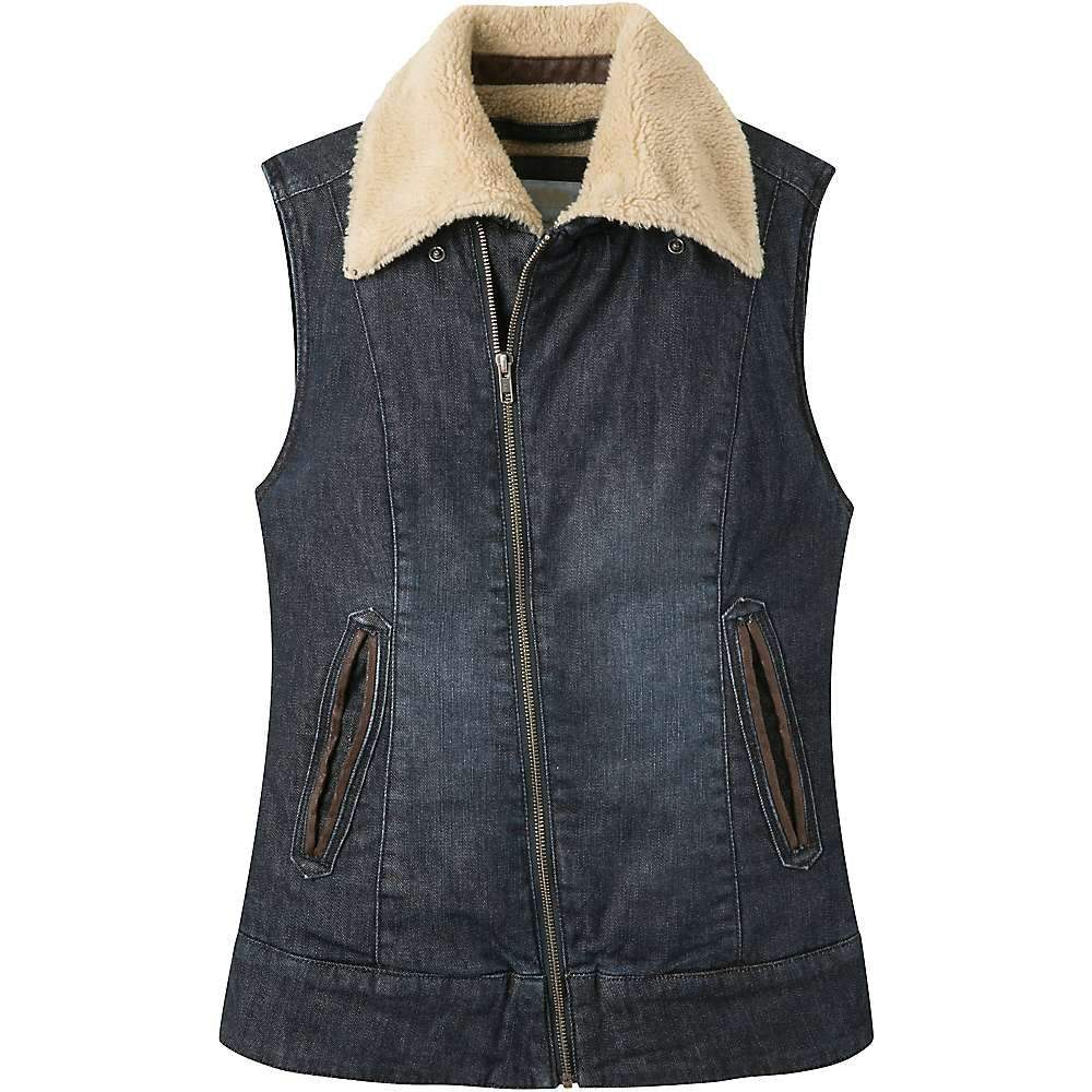 マウンテンカーキス レディース トップス ベスト・ジレ【Ranch Shearling Vest】Dark Denim