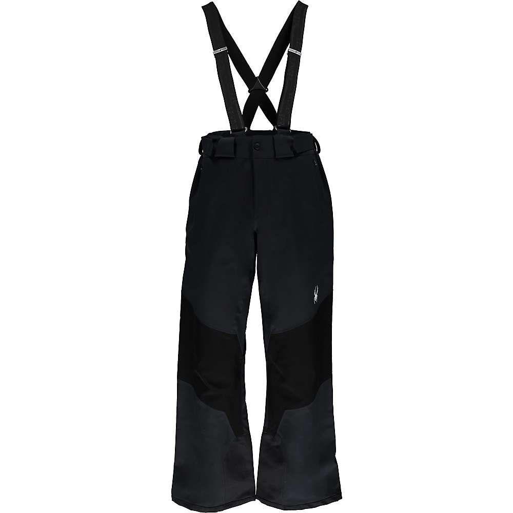 スパイダー メンズ スキー・スノーボード ボトムス・パンツ【Turret Pant】Black / Black / Black