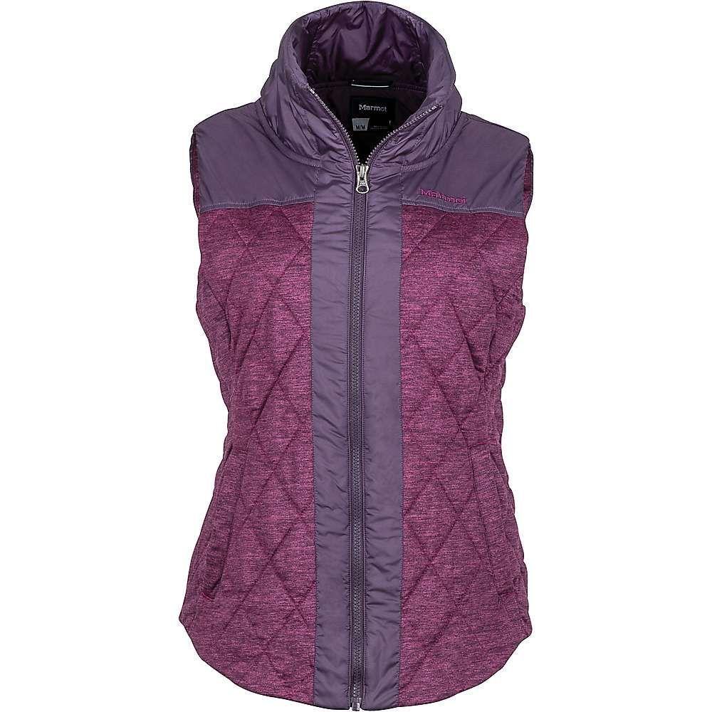 マーモット レディース トップス ベスト・ジレ【Abigal Vest】Red Grape Heather / Nightshade