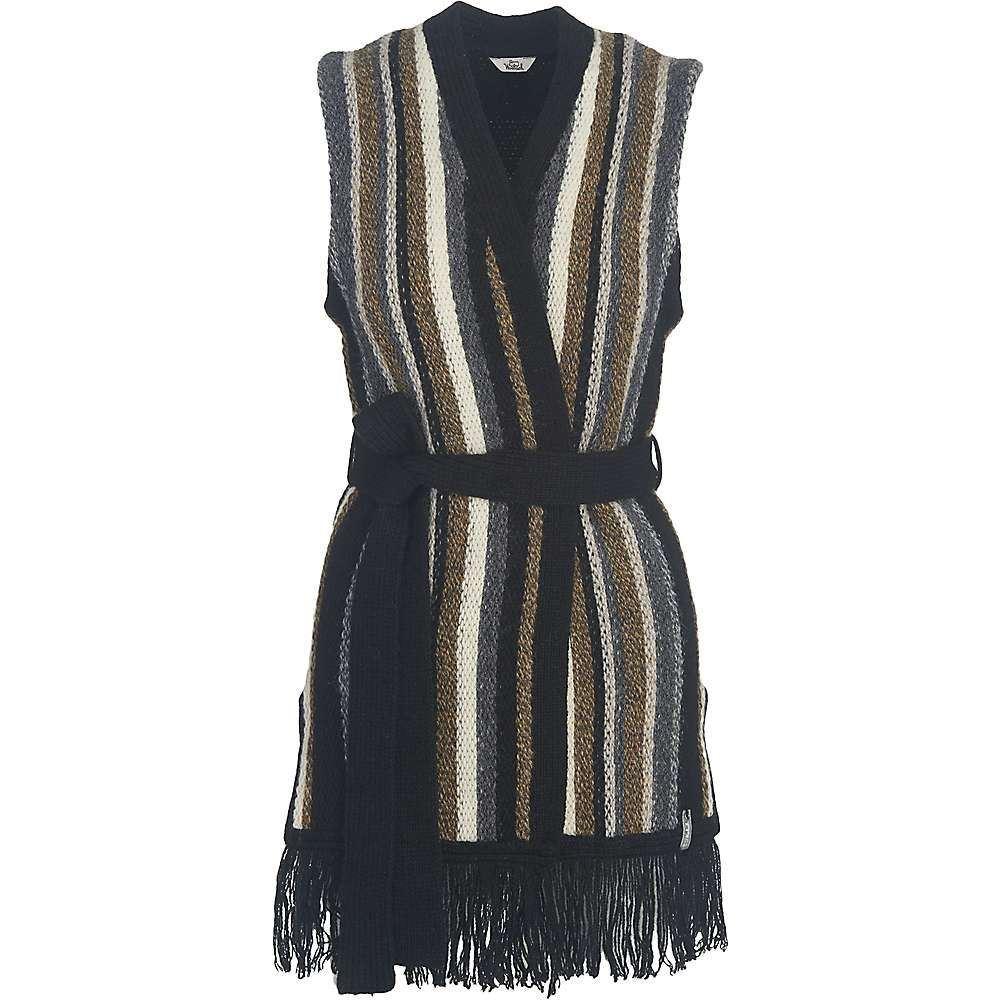 ウールリッチ レディース トップス ベスト・ジレ【Shetland Fringe Vest】Black