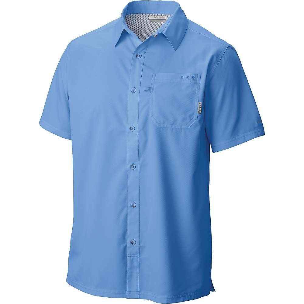 コロンビア メンズ ハイキング・登山 トップス【Slack Tide Camp Shirt】White Cap
