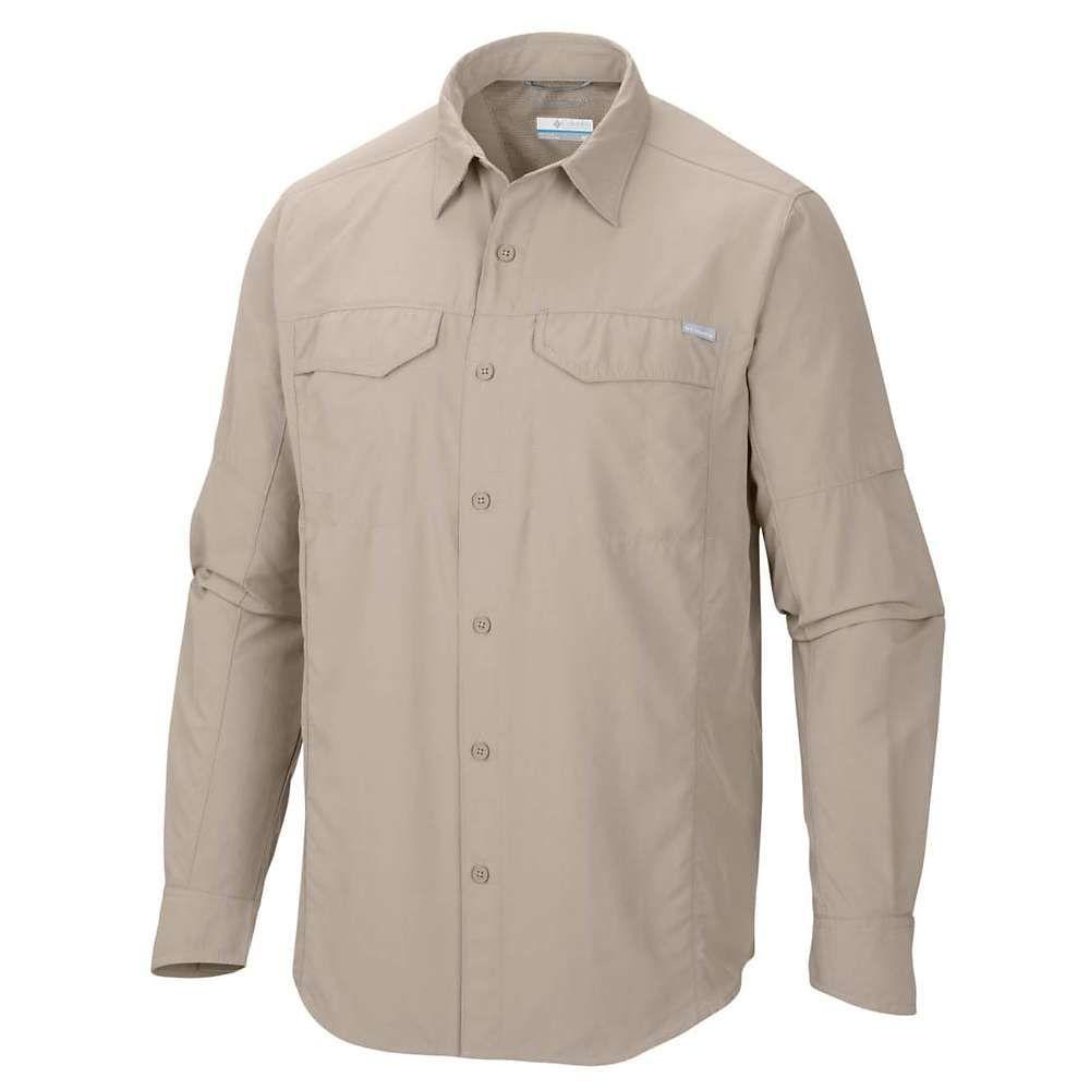 コロンビア メンズ ハイキング・登山 トップス【Silver Ridge Long Sleeve Shirt】Fossil