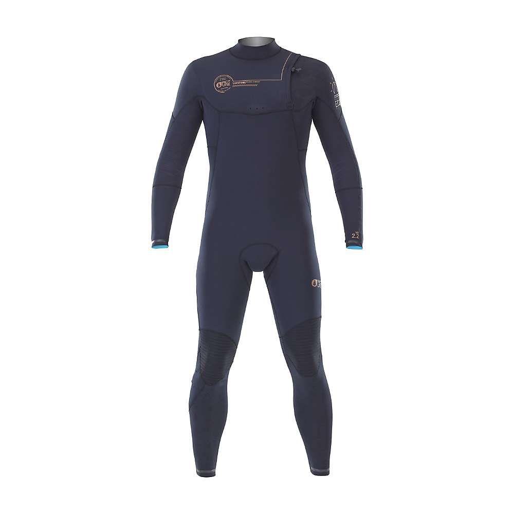 ピクチャー メンズ サーフィン ウェットスーツ【Dolphin 2.2 Zip Free Wetsuit】Black