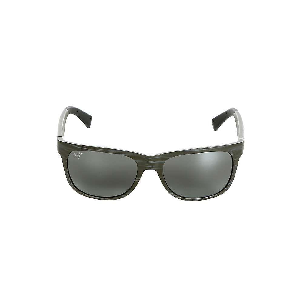 マウイジム ユニセックス スポーツサングラス【Kahi Polarized Sunglasses】Matte Brown Wood Grain / HCL Bronze