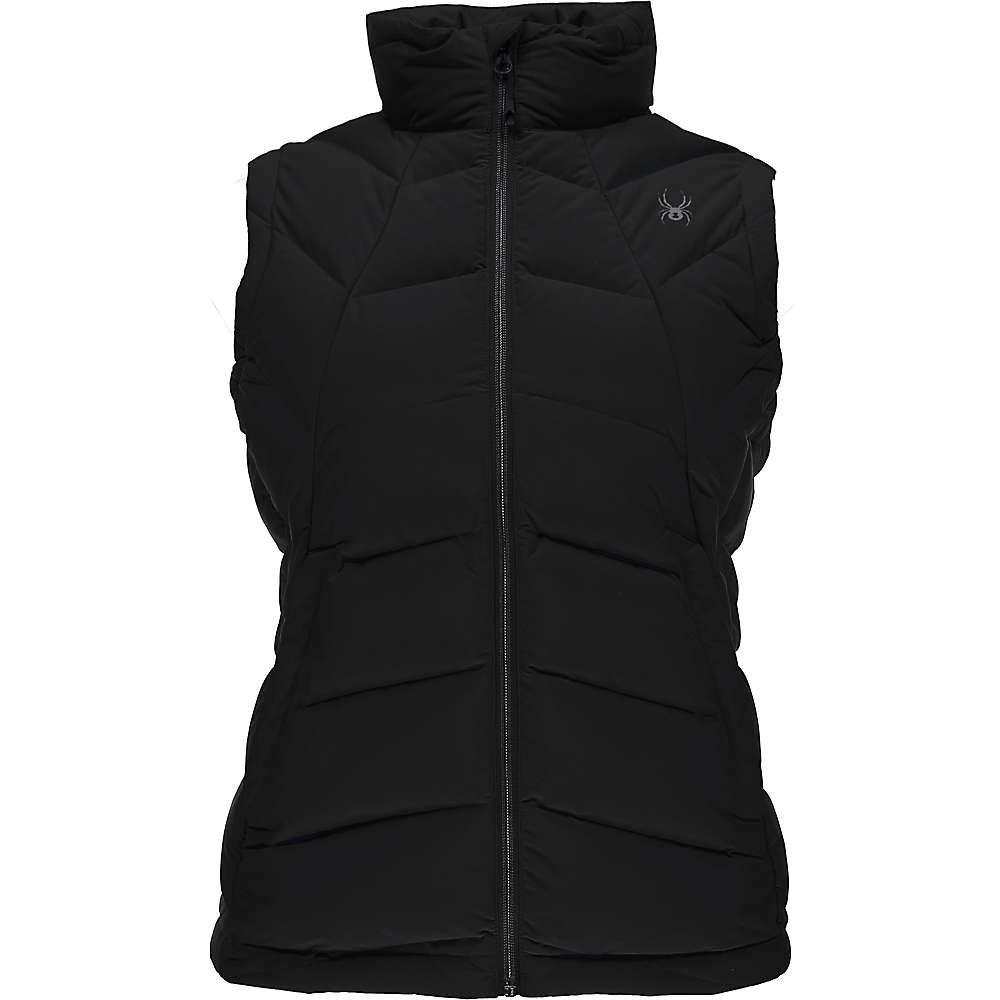 スパイダー レディース トップス ベスト・ジレ【Syrround Vest】Black