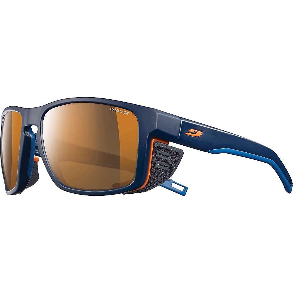 ジュルボ メンズ スポーツサングラス【Shield Sunglasses】Blue/Blue/Orange/CamTlTon