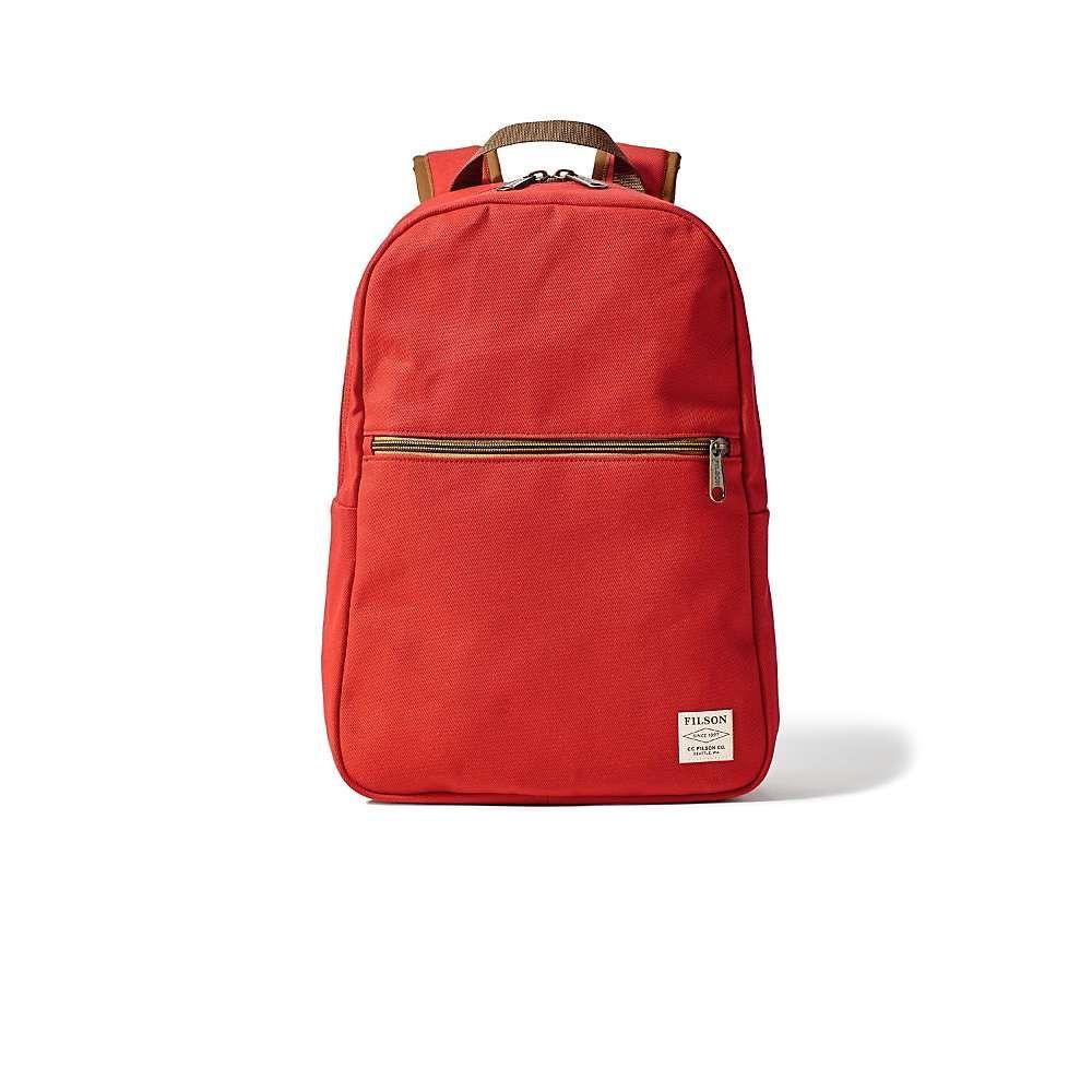 フィルソン ユニセックス バッグ バックパック・リュック【Bandera Backpack】Mackinaw Red