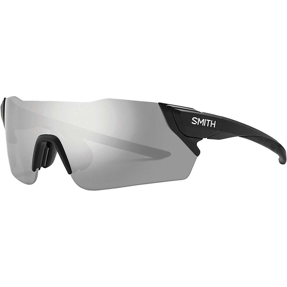 スミス ユニセックス スポーツサングラス【Attack ChromaPop Sunglasses】Matte Black / Platinum